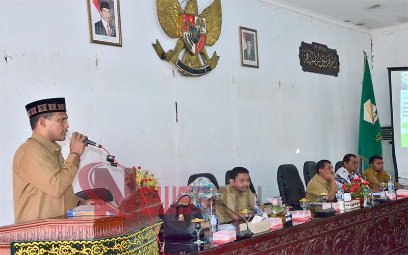 Bupati Aceh Timur; Pengelolaan ADD Harus Prioritaskan Reha RTLH