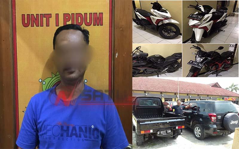 Jual Mobil Dan Motor Curian, Warga Batuan Sumenep Ditangkap Polisi