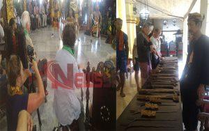 Wisatawan Manca Negara Kunjungi Keraton Sumenep