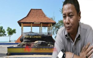 Akses Menuju WisataPantai Lombang Dikeluhkan Pengunjung