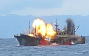 Bakmla RI Tenggelamkan 81 Kapal Nelayan Asing