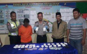 Edarkan 27 Ribu Pil Koplo, Warga Kandangan Kediri Ditangkap Polisi