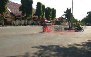 Jelang Road Race, Sejumlah Rider Jajal Sirkuit Taman Adipura Sumenep