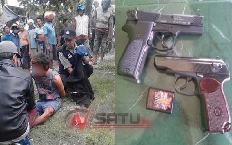 Komplotan Bandit Tembak Polantas Tuban, Satu Bandit Berhasil Dibekuk