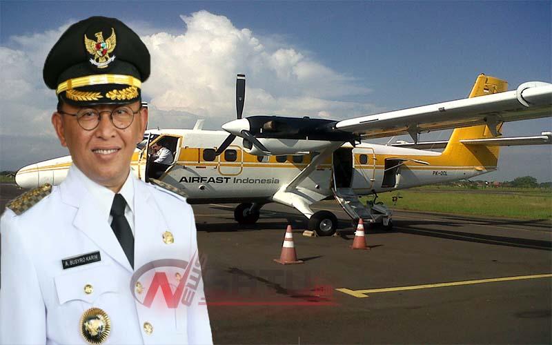 Penerbangan Komersil Terhalang SMA PGRI Sumenep