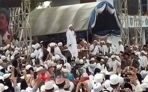Ratusan Personel Gabungan Amankan Pengajian Habib Rizieq Syihab Di Pamekasan