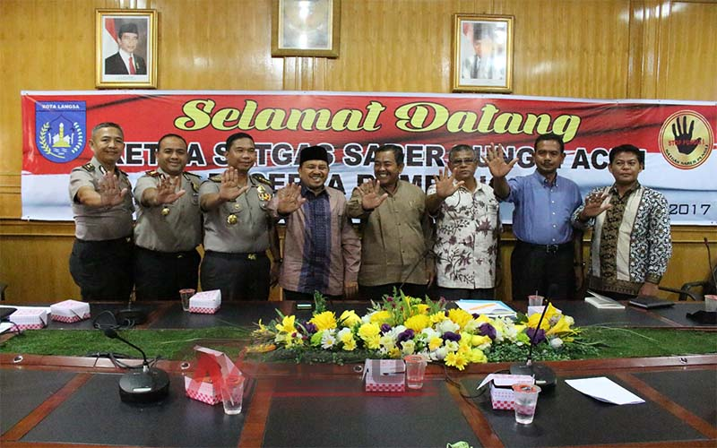 Satgas Saber Pungli Siap Berantas Praktek Pungli Di Wilayah Langsa Aceh