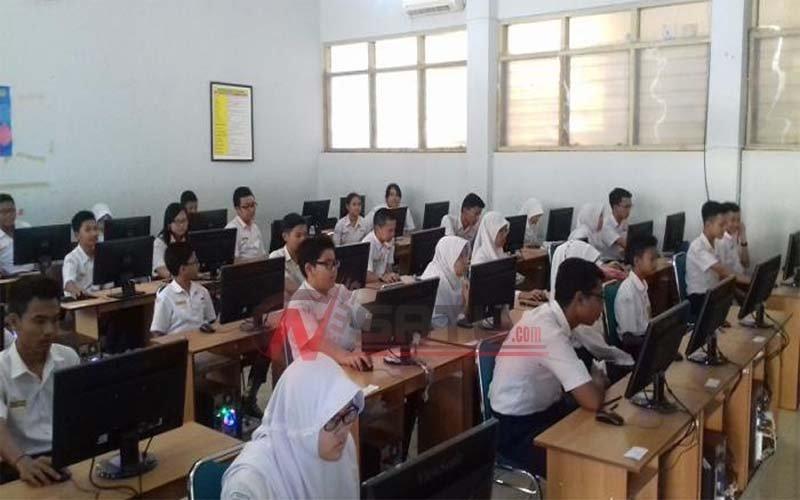 Siswa SMP Sederajat Di Kota Ternate Ikuti USBN
