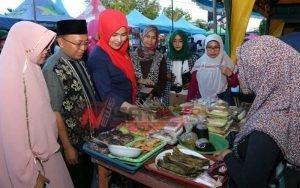 Bupati Sumenep; Bazar Takjil Bisa Menggerakkan Ekonomi Kerakyatan