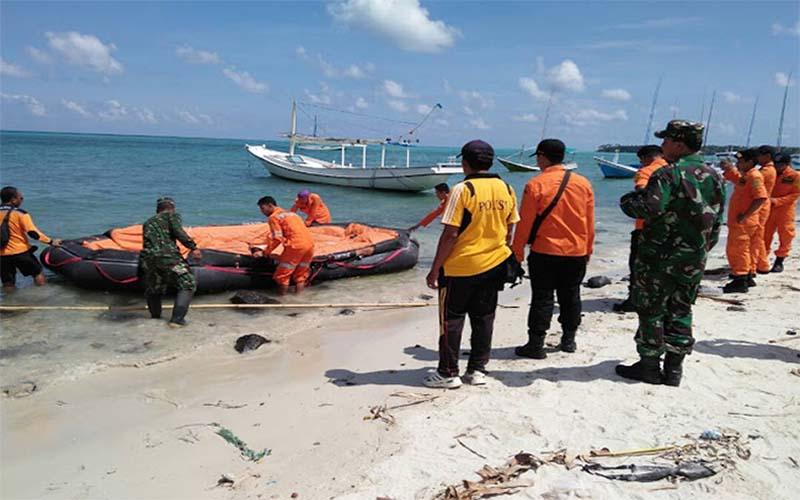 Cari Korban KM Mutiara Sentosa I, Petugas Gabungan Sisir Pulau Masalembu