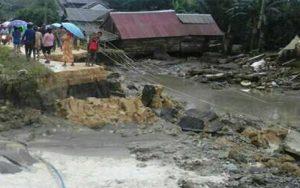 Diterjang Banjir, Satu Rumah Di Buton Utara Rata Dengan Tanah