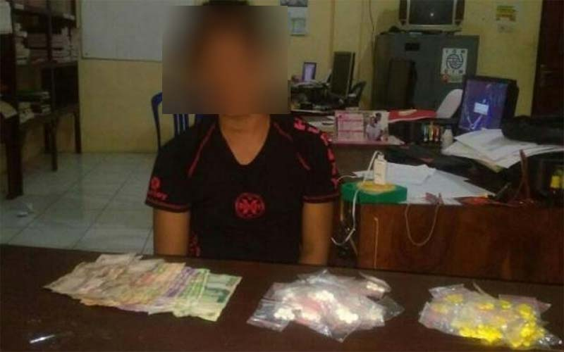 Edarkan Ratusan Pil Dextro, Warga Penarukan Situbondo Diamankan Polisi