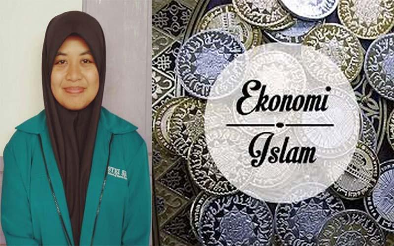 Foto Azka Tahiyati; Ekonomi Islam Pelopor Peradaban Indonesia