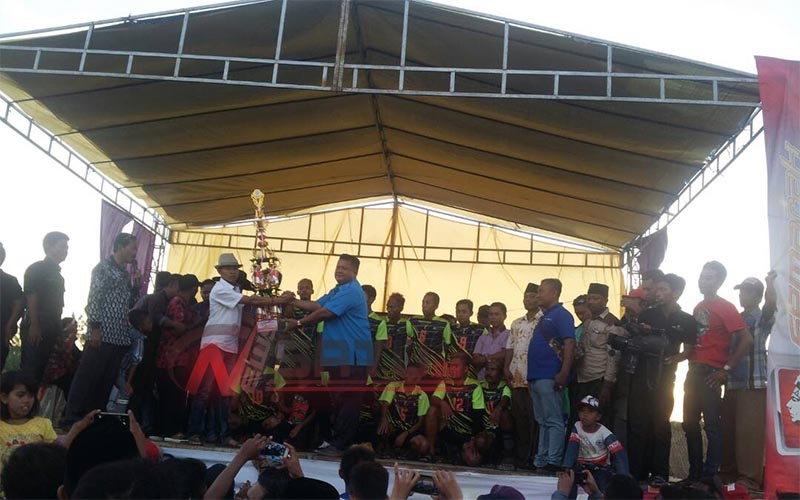 Klub Perjuangan Desa Tamidung, Raih Juara I Dalam Lomba Bola Kasti