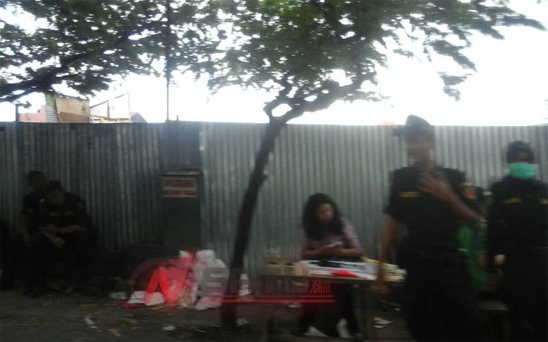Pasar Merjosari Ditutup, Ratusan Personel Disiagakan