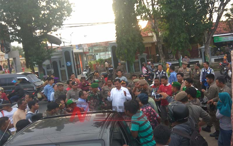Penertiban PKL di Jalan KH Agus Salim Sumenep Nyaris Ricuh