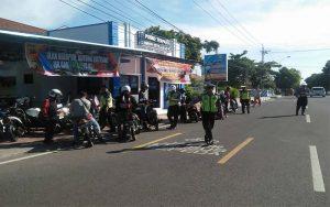 Satlantas Polres Situbondo Beri Sanksi Tilang Pada Ratusan Pengendara