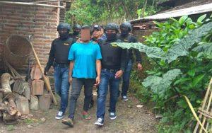 Simpan Handak Seberat 3 Kuintal Lebih, Dua Warga Kediri Diamankan Polisi