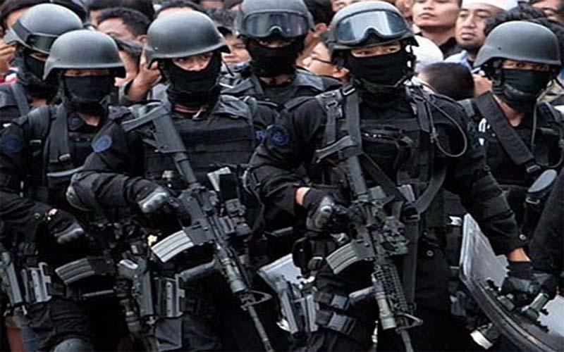 TNI Dan Polri Di Sumenep Persempit Ruang Gerak Teroris