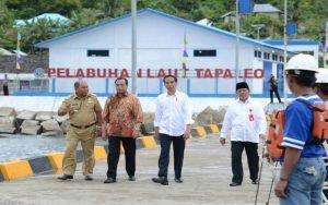 Tiga Pelabuhan Di Maluku Utara Diresmikan Presiden Jokowi