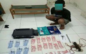 Edarkan Uang Palsu, Warga Bengkalis Ditangkap Polisi