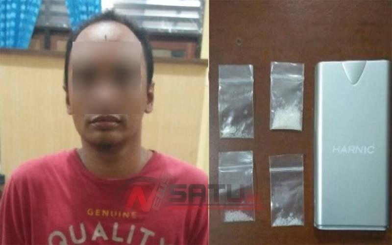 Jadi Pengedar Narkoba, Kontraktor Sumenep Ini Ditangkap Polisi