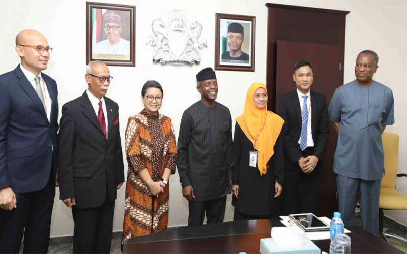 Menteri Luar Negeri RI Lakukan Kunjungan Kehormatan Ke Nigeria