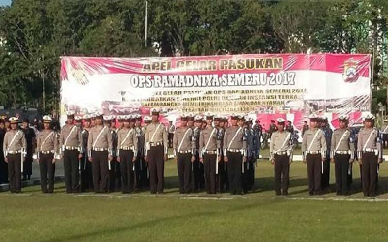 Operasi Ramadniya 2017, Polda Jatim Terjunkan 13 Ribu Personel