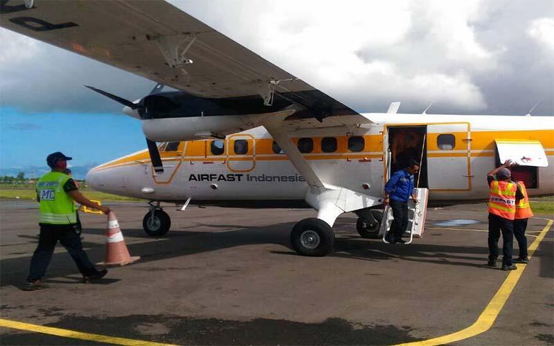 Penumpang Pesawat Perintis Sumenep-Surabaya Masih Bertahan 40 Persen