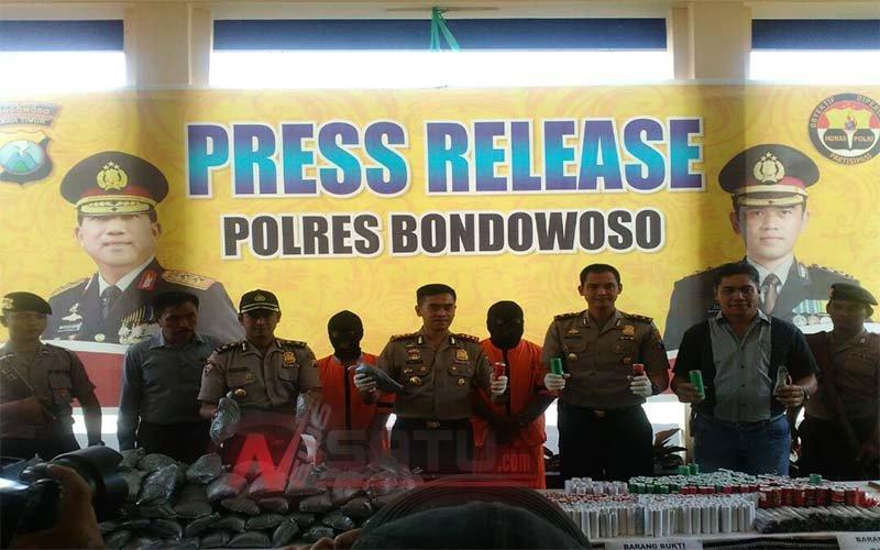 Simpan Bahan Peledak 1 Kwintal Lebih, Warga Bondowoso Diamankan Polisi