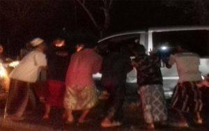 Waspada Saat Mudik Lebaran, Tiga Kendaraan Terlibat Kecelakaan Di Sampang
