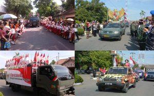 Antusias Masyarakat Dalam Festival Merah Putih Di Pemalang