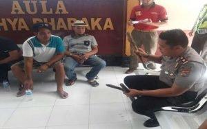Bawa Sajam, Belasan Warga Mataram Diamankan Polisi