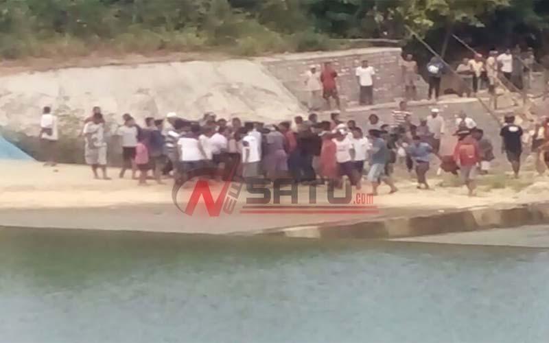 Dua Siswa SD Tenggelam Di Sungai Kebonagung Sumenep
