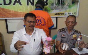 Edarkan Narkoba, Residivisi Di Kota Mataram Ditangkap Polda NTB