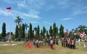 HUT Kemerdekaan RI Ke 72, Pelajar Di Sumenep Tampilkan Drama Kolosal