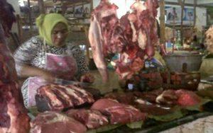 Jelang Idul Adha, Harga Daging Sapi Disampang Tembus Rp 110 Ribu