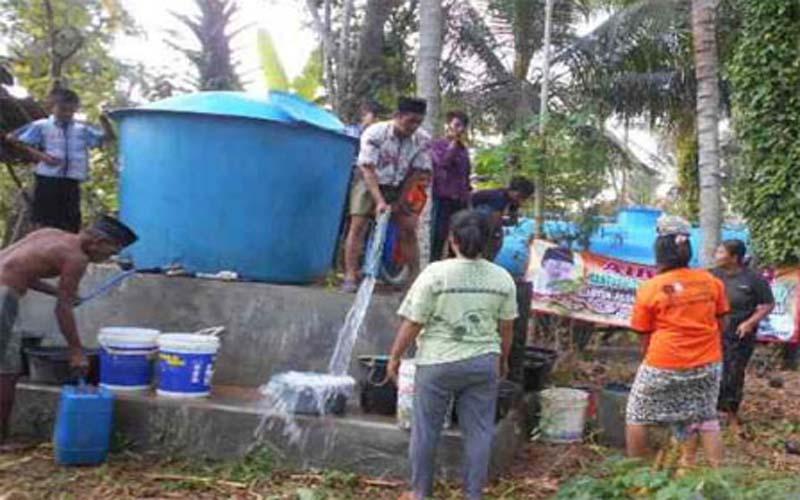 Krisis Air Bersih Mulai Landa Enam Desa Di Sumenep