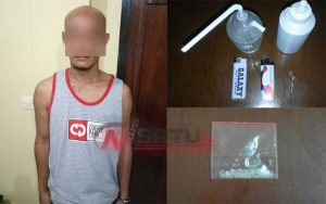 Narkoba, Warga Saronggi Sumenep Ditangkap Polisi