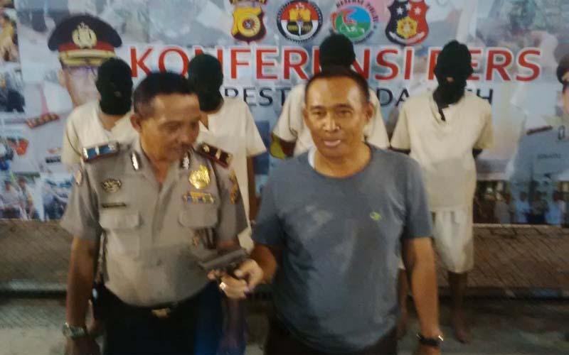 Pesta Narkoba, Anggota DPR Aceh Ditangkap Polisi