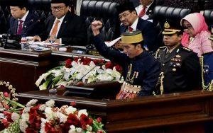 Presiden Jokowi Sidang Bersama Di DPRRI, DPD RI dan MPRRI
