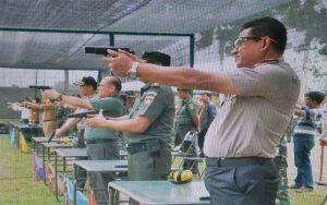 Syukuran Lapangan Tembak Moch Bachroen Ditandai Dengan Lomba Menembak
