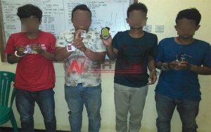 Terlibat Narkoba, Empat Pemuda Asal Pulau Kangean Sumenep Diamankan Polisi