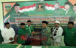 Badrut Tamam Ambil Formulir Pendaftaran Ke PPP