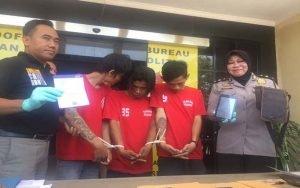 Polrestabes Surabaya Ringkus Pelaku Pencuriang Dengan Modus Penipuan