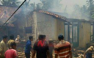 Rumah Warga di Sumenep Hangus Dilalap Sijago Merah