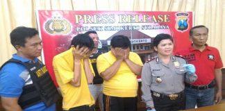 Edarkan Narkoba Warga Surabaya Ditangkap Polisi