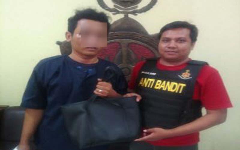 Rampas Tas Milik Mahasiswi, Pemuda Pangangguran Diamankan Polisi