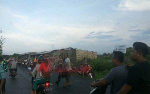 Angin Puting Beliung Porak-porandakan Puluhan Rumah Di Sumenep