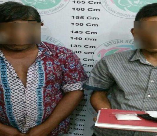Edarkan Narkoba, Dua Warga Aceh Tamiang Diamankan Polisi